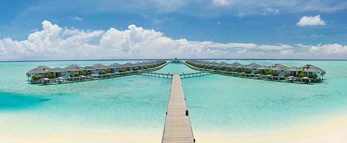 Sun - Island - Resort - Spa - water villas
